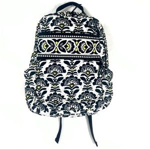Vera Bradley Laptop Backpack Fanfare Pattern